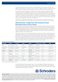 Infrastructure Finance Newsletter – exemplary page 2